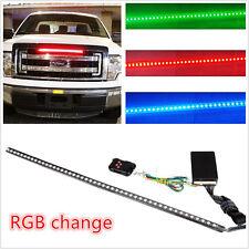 RGB 22IN 56CM 48 Led Light Strip Knight Rider Flash Strobe Scanner Neon Car SUV