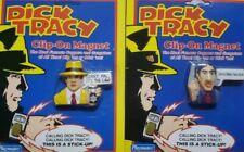 Playmates Dick Tracy and Al Big Boy Caprice Clip-On Magnet  Walt Disney