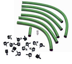 Premium OM603 Mercedes Green Braided Viton Diesel Return Lines (Biodiesel Safe!)