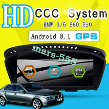 For BMW 3/5 Series E90 E60 Android 8.1 Car DVD GPS Navi Radio Touch Screen CCC