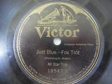 """Victor Record 78 RPM 10"""" You'll Find Old Dixieland in France 18547 Blue 199-9Y"""