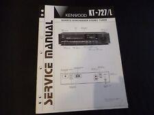 Original Service Manual Kenwood KT-727L