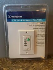 Westinghouse 77875 Universal Ceiling Fan and Light Wireless Wall Control - New
