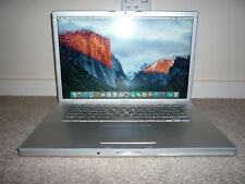 "Apple MacBook Pro 2007 15"" Core 2Duo 2.4Ghz 4GB 320GB Nvida 128MB OSX El Capitan"