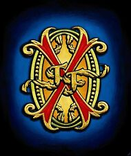 """OPUS X Cigar Crest Painting, 44"""" X 52"""" Archival Print, Double-Weight Matte Paper"""