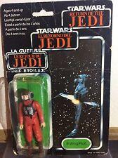 vintage star wars return of the jedi tri logo b wing pilot figure