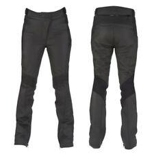 Pantalones negros Furygan de cuero para motoristas