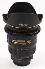 NIKON 17-35mm f/2.8 AF-S D IF ED Zoom-NIKKOR Lens W/ DUCLOS CINE FOCUS MOD MINT