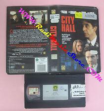 VHS film CITY HALL 1996 Al Pacino John Cusack Bridget Fonda MEDUSA (F55) no dvd