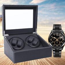 Display Case Storage Box Luxury Gift 4+6 Watch Winder Automatic Rotation Watch