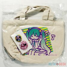 Tote Bag Button Badge Hatsune Miku 2013 Summer Ver. Lottery Prize G Type-B NEW