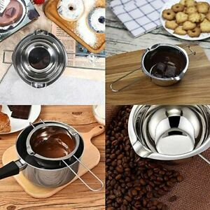 Wax Melting Pot Stainless Steel DIY Scented Candle Soap Long Handle Soap Tool