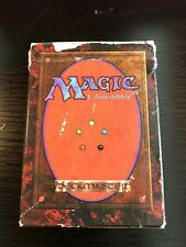 Mtg Empty 3th Edition FBB French Empty Starter Deck Played