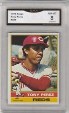 TONY PEREZ -- 1976 TOPPS -- #325 -- GRADED NM-MT 8