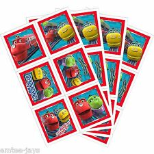 Chuggington Stickers - Sealed Pack/4 Sheets - Birthday Favours Party Loot Trains