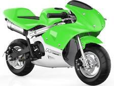 MotoTec Phantom Gas Pocket Bike 48.9cc 2-Stroke Green Air Cooled EPA Approved