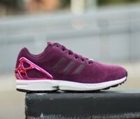 best loved 2ef44 c0c1c Adidas Womens ZX Flux Trainers Shoes Purple B35320 UK 3.5 to 6