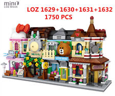 1750pcs LOZ MINI Blocks DIY Building Kids Toys Puzzle Cartoon Store 1629-1632