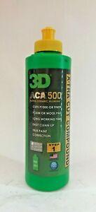3D ACA 500 X-tra Cut Compound Alpha Ceramic Alumina Cuts P1000 & Finer 3M 236ML