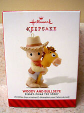 Hallmark 2014 Woody and Bullseye, Precious Moments, Disney's Toy Story