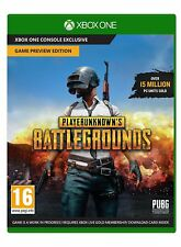 Playerunknown's Battlegrounds Game for The Xbox One Rated Pegi 16