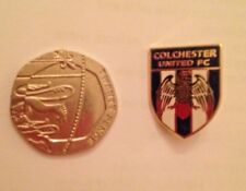 Colchester United - Metal Badge - Brand New -