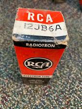 RCA 12JB6A Vacuum Tube New Old Stock