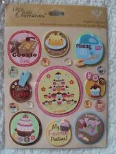 K & Company Baking Together Sticker Medley 30-587533