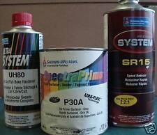 Sherwin Williams P30A urethane flex 2K primer auto body shop car paint supplies