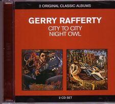 2 CD (NEU!) . GERRY RAFFERTY - City to City / Night Owl (Baker Street mkmbh