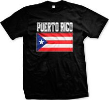 Puerto Rico Puerto Rican Country Flag Nationality Ethnic Pride -Men's T-shirt