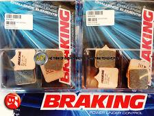PER KTM SM T 990 2012 12 PASTIGLIE ANTERIORE SINTERIZZATE FRENO BRAKING CM55 SPO