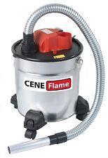 Aspirateur A Cendres Froides Cheminee 1200W - Bidon 18L - CENEFLAME - PRCEN007