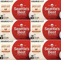 Seattle's Best Coffee Toasted Hazelnut Keurig K-Cups 60 Count BBD 12/2020