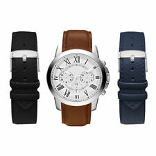 AMERICAN EXCHANGE Men's Quartz Watch with Interchangeable Strap