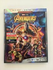 Avengers Infinity War Blu-ray, and Digital Copy, Brand New Sealed!!!