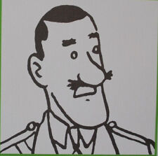 Herge (by) - Tintin Characters (8) - 3 Lithographs Exlibris #2011