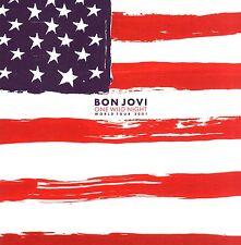 BON JOVI  2001 ONE WILD NIGHT TOUR CONCERT PROGRAM BOOK / RICHIE SAMBORA