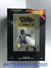 MINICHAMPS VALENTINO ROSSI 1/12 FIGURINE WINNER MISANO 2009 WITH FLAG 312090376