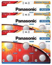 18 x Panasonic CR 2016 3V - 3 x 6er Blister Batterie Lithium Knopfzelle 90mAh