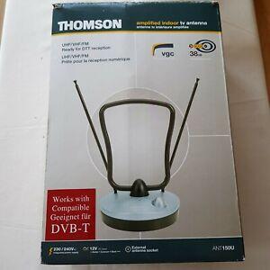THOMSON ANT150U - UHF/VHF/FM AMPLIFIED INDOOR ANTENNA – Model - ANT150U