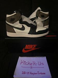 NIKE Air Jordan Retro 1 High OG Mocha Size 6 GS Youth Authentic DS NEW