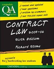 Contract Law Q&A (Questions & Answers),Richard Stone