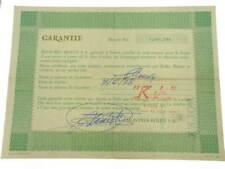 Rolex certificate serial number 3.645.786 genuine garanzia certificato warranty