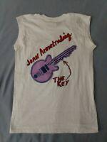 """Joan Armatrading World Tour.    T-shirt """"The Key"""" 1983"""