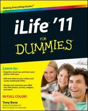 iLife '11 For Dummies, Bove, Tony, Good Condition, Book