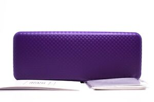 #L Alain Mikli case for Sunglasses Eyeglasses - Purple Hard Clam Shell