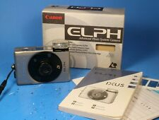 Canon Elph Ix 240 Aps Film Camera with Box and Instructions