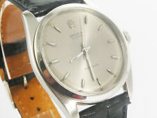 ROLEX OYSTER PRECISION VINTAGE, REF.: 6424, SILVER DIAL, 36MM WITHOUTCROWN. RARE