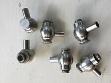 Stainless Steel Sample Tasting Sanitary Gate Valve Screw Closure - 9 available